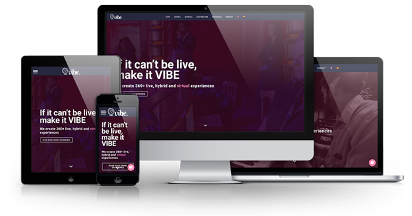 Vibe agency website